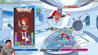 Puyo Puyo Tetris with Eye Tracking! (& match vs shoboru)