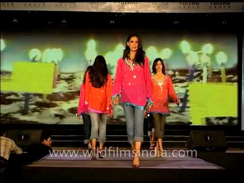 Fashion show in India's fashion capital - New Delhi
