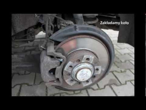 VAG - Wymiana klocków hamulcowych VW GOLF V 2.0 TDI  TYŁ
