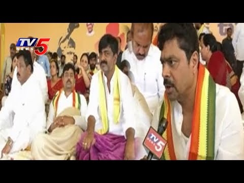 MP CM Ramesh Face to Face | CM Ramesh Hunger Strike For Kadapa Steel Plant | TV5 News