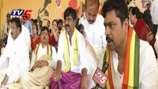 MP CM Ramesh Face to Face - CM Ramesh Hunger Strike For Kadapa Steel Plant  - netivaarthalu.com