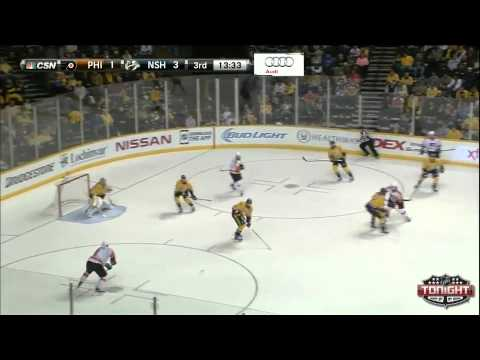 Game 35. Philadelphia Flyers vs Nashville Predators (27 december 2014)
