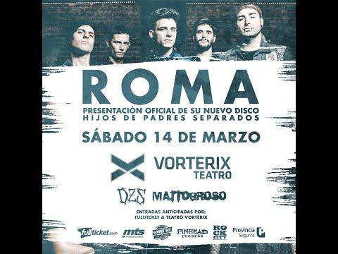 Roma - entrevista en Vorterix 8/03/15