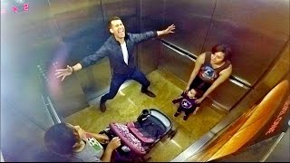 Awkward Elevator Singing