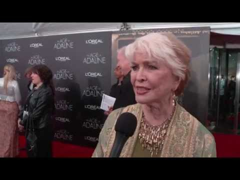THE AGE OF ADALINE - Premiere Interview - Ellen Burstyn