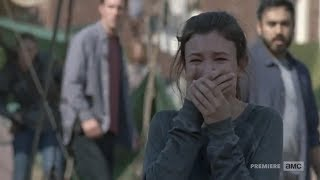 The Hilltop reacts to Carl's death.