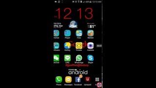 Samsung ဖုန္း Font Style ၿပသနာ