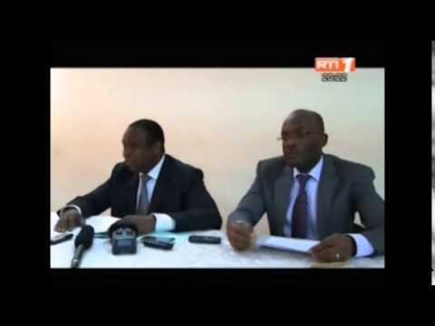 Point de presse du directeur de l'orientation et des examens(Dorex) M Doulaye Coulibaly