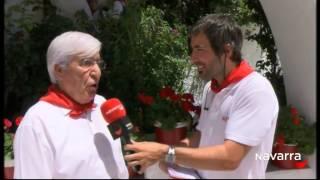 El encierro 10 de Julio , por Navarra TV