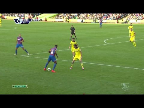 Wilfried Zaha Vs Chelsea Home HD 720p (18/10/2014)