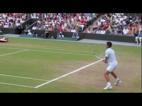 Novak Djokovic vs Lu Yen-hsun - Wimbledon 2010 Quarterfinal Court 1