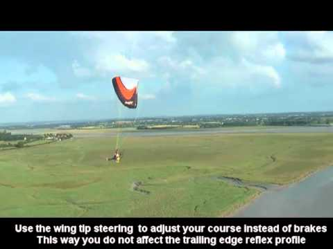 Speed bar & Reflex paramotor wings