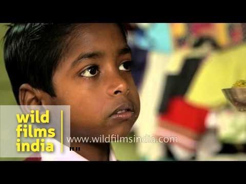 Preparing for School in Assam, India