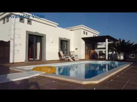 Lanzarote Villa Rentals- Book now on Sunpool.co.uk