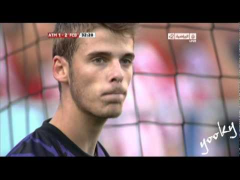 Gerard Piqué goal vs Atlitco madreid