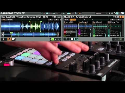 New TRAKTOR Remix Set: M.A.N.D.Y. - Twisted Sister | Native Instruments
