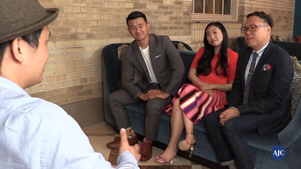 """Crazy Rich Asians"" actors note how groundbreaking film is"