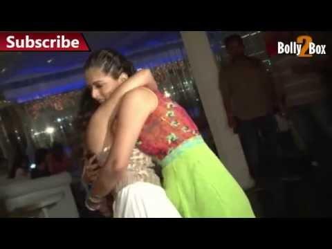 Neha Marda Hot Lesbian Kiss At Birthday Party video