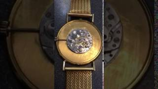 $20 gold piece watch movement