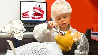 Funny Kid and indoor playground for kids