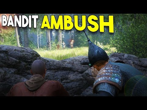 BANDIT AMBUSH! - Kingdom Come Deliverance (Beta) #2