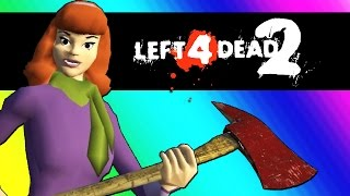 Left 4 Dead 2  Scooby Doo Edition Mods  Funny Moments