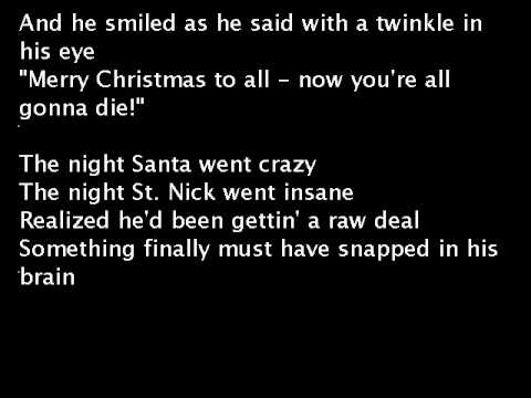 Weird Al Yankovic - The Night Santa Went Crazy (extra Gory)