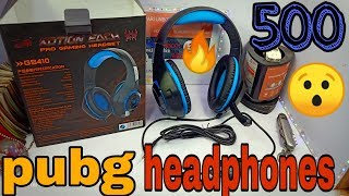 headphone for pubg / and free fire / crystal clear sound / by vari unbox show