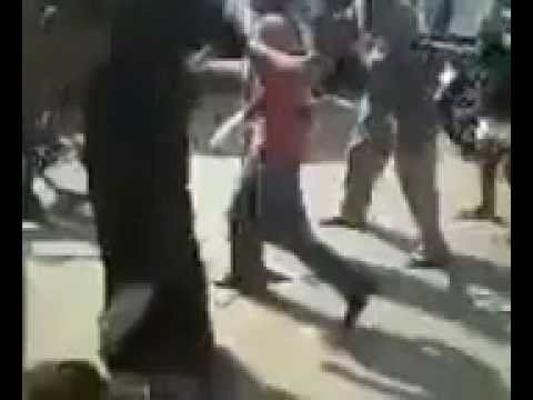 Egypt, Members Of Muslim Brotherhood Rape Two Christian Copt's Women At Day In Public. video