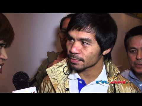 Manny Pacquiao Exclusive Post Fight Interview!