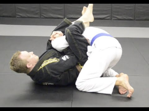 Brazilian Jiu Jitsu Technique Bicep Cutter from Guard