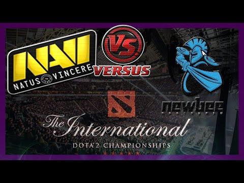 NaVi vs NewBee bo1 International 2014 Dota 2 #ti4 RUS