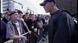 John Cena battles a fan (freestyle raping)