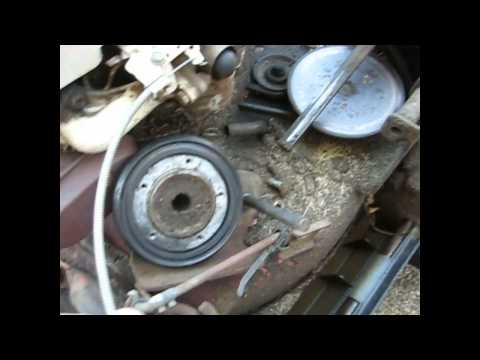 Replacing the Drive Ring on a Snapper Self Propelled Lawnmower