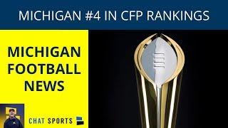 Michigan Football News: CFP Rankings, Michigan Recruiting Update, Dylan McCaffrey Injury