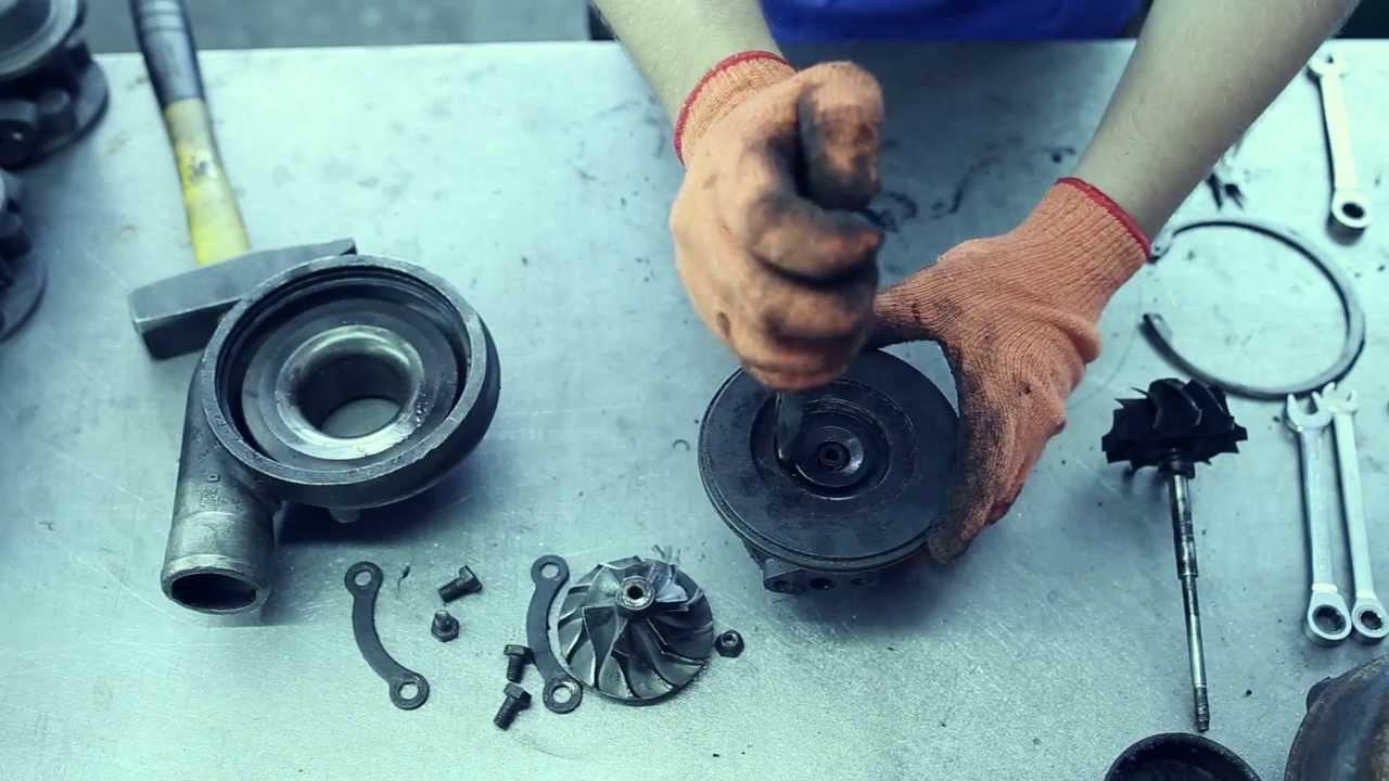 Как поменять турбину своими руками