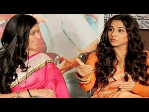 Vidya Balan On Bade Aache Lagte Hain 27th February 2014 Special Episode video