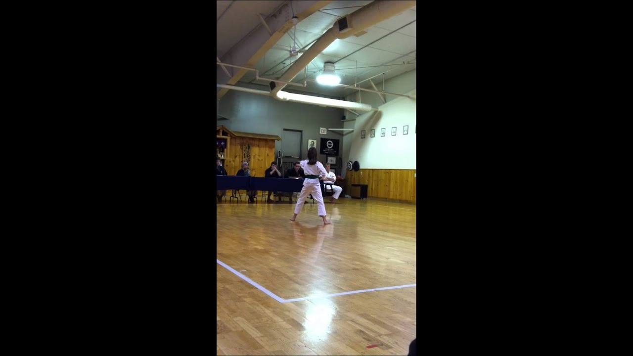 Karate Purple Belt Test