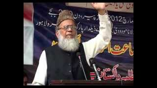 Inauguration Of Syed Maududi Academy In Lahore - 5 march 2012