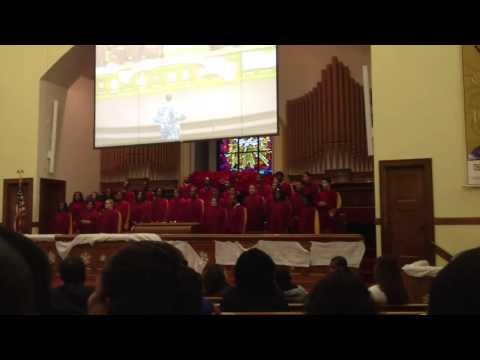 Peterson warren academy choir - 12/11/2012