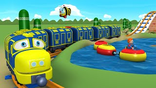 Toy Factory Cartoon - Train for Kids - Thomas Cartoon - поезда для детей видео - Train Cartoons
