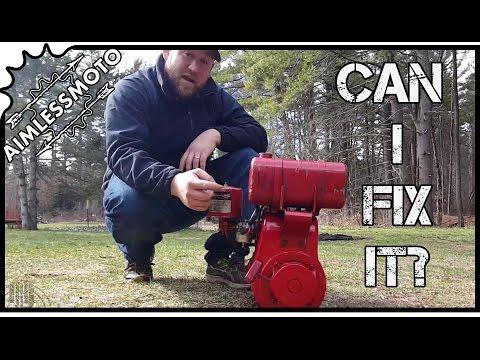 Small Engine Repair   Tecumseh HH60 REBUILD   Diagnose and Fix   PROJECT