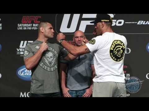 UFC 160: Velasquez vs. Bigfoot 2 Face-Offs