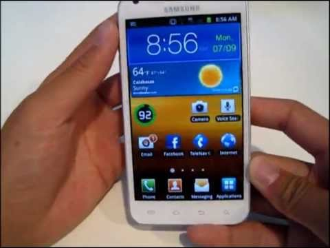 Samsung Galaxy S II Epic 4G Touch Unboxing and First Look (White)