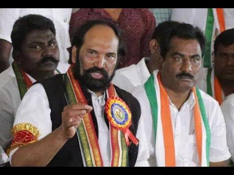 TPCC president Uttam Kumar Reddy angry on CM KCR over Rythu Bandu Scheme
