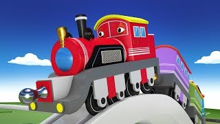 Cartoon Train - Trains for Kids - Choo Choo Train - Toy Factory - Cartoon Cartoon - Thomas The Train