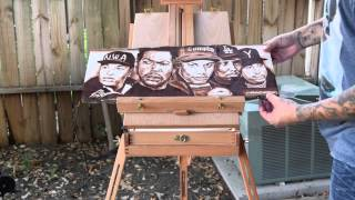 NWA straight Outta Wood Stain