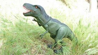 """Đồ chơi Khủng Long T-REX tìm thức ăn mới nhất 2015 (Bí Đỏ) """"T-Rex Dinosaur"""" new"""
