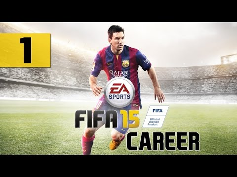 "FIFA 15 - Career - Let's Play - Part 1 - [Create-A-Player] - ""Loaned To Kilmarnock"" 