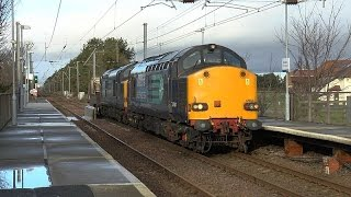 January 2016 WCML diversions over the G&SW lines in Ayrshire